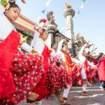 Charya Dance Panchatal at Swoyambhu Stupa